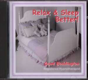 Relax and sleep better with Hypnosis CD or                         MP3